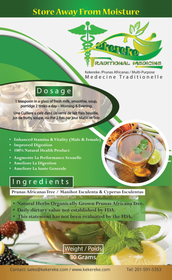 kekereke SMALL  front 600x975 - Digestion & Multipurpose Formula 30gm & 60gm