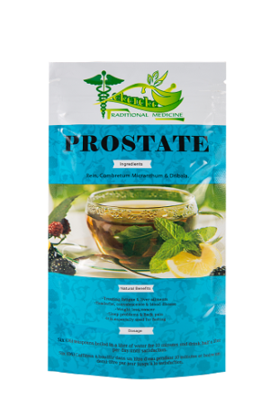 Organic prostate health supplement