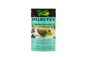 Organic herbal relief of diabetes
