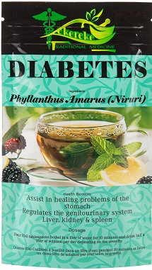 DIABETES - Kekereke Diabetes Formula